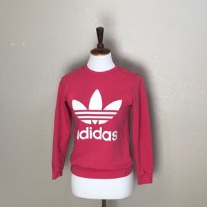 Adidas Trefoil Pink Sweatshirt